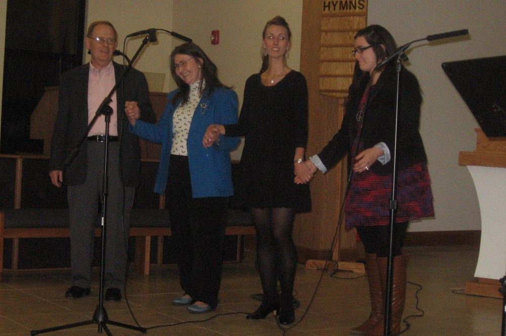 Msgr. Weber Honored at Concert for Life (4/5)