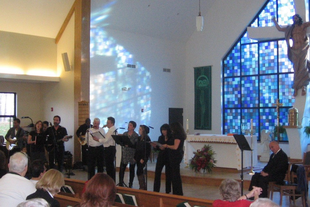 Msgr. Weber Honored at Concert for Life (3/5)