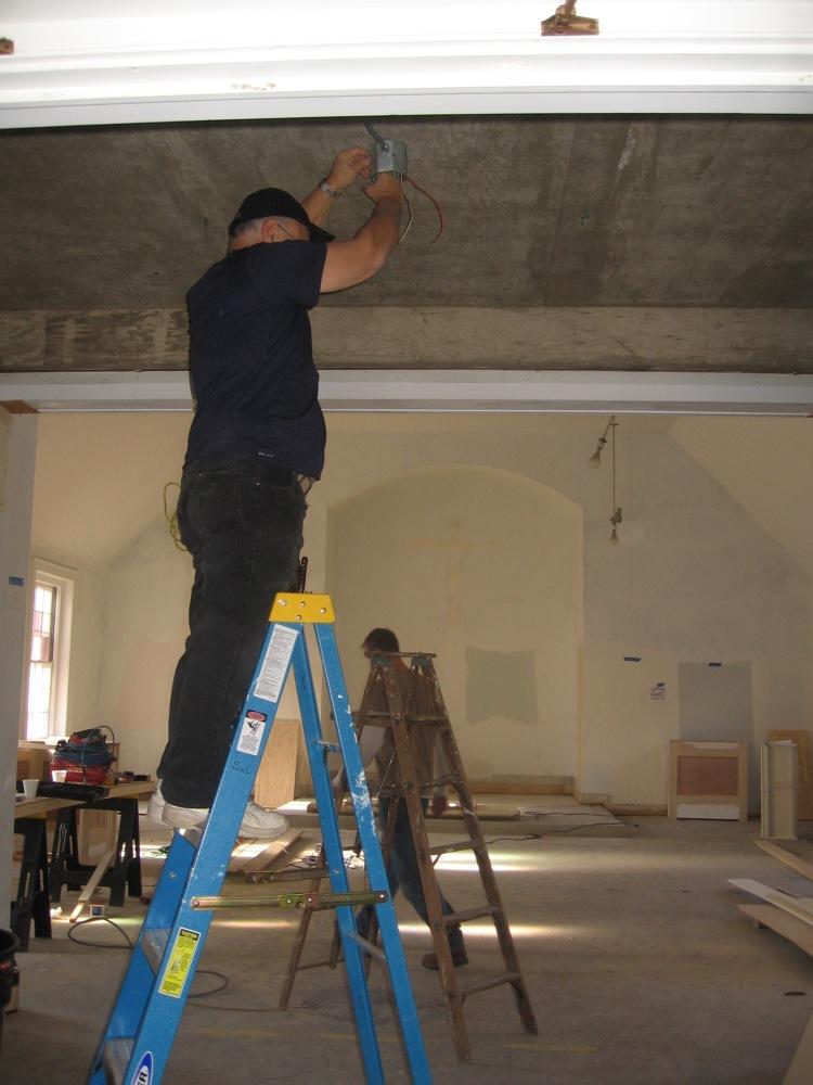Progress at Sisters of Life Motherhouse (5/5)