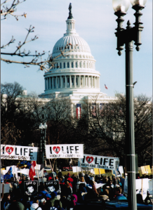 2001 March for Life Reers