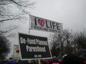 January 14 in DC.  Right to life march