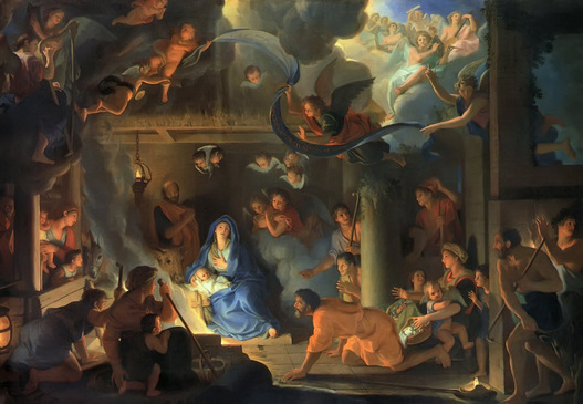 13_Le_Brun,_Charles_-_Adoration_of_the_Shepherds_-_1689