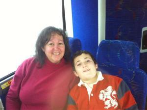 On the St. Paul's Bus