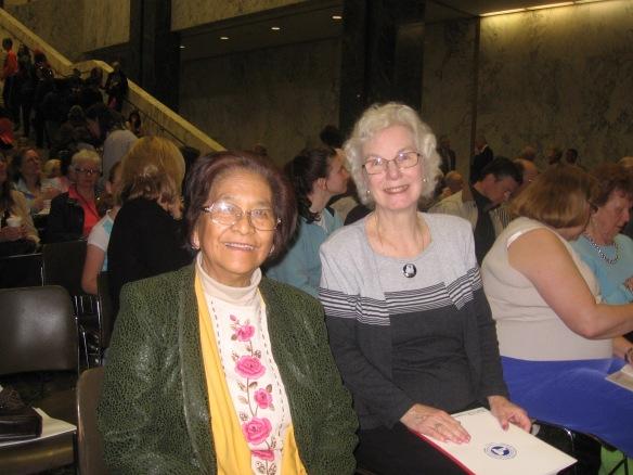 Almeda and Judy