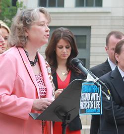 National Right to Life Chairman Carol Tobias