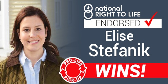 She's from New York, Prolife, and heading for Congress. Also, only 30 years old