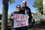 Blanca and Deacon Ed Ilarraza