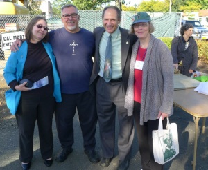 Eileen Peterson, Bob Zottoli, Chris Bell, of Good Counsel Homes, and Liz O'Brien, of Rockland Right to Life