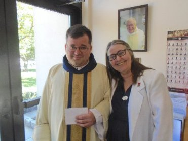 Fr NC and Eileen